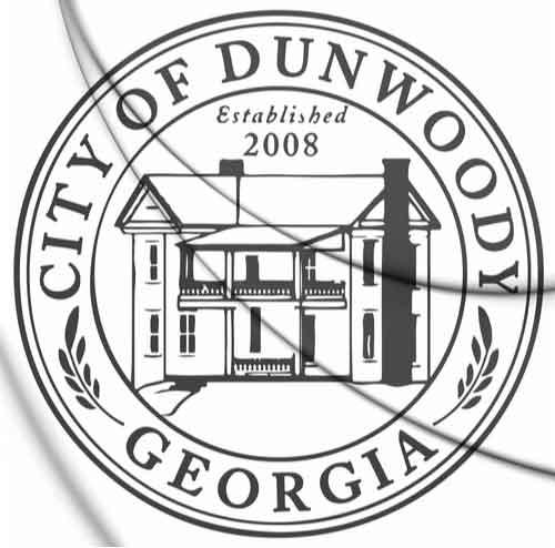 Seal of Dunwoody, Georgia, USA