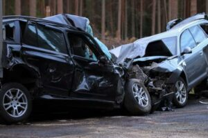 two-vehicle collision in Athens