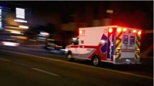 Ambulance, concept of Macon hit-and-run